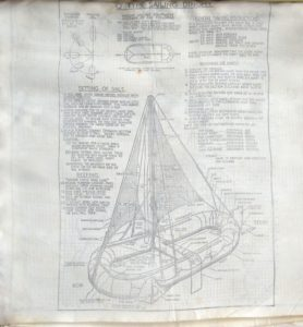 Manual Dinghy gummibåd, Traneodde