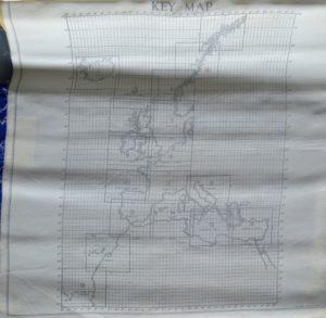 Key map fra Dinghy kort